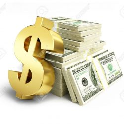 33464078-dollar-sign-stacks-of-dollars-on-a-white-background